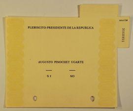 1988 plebiscite ballot
